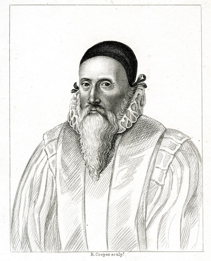 PR737 Engraved print - Portrait of John Dee engraved by R Cooper%2c c1800 - © RCP cropped